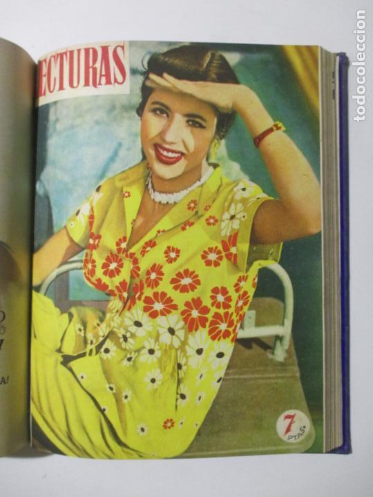 Coleccionismo de Revistas: 17 REVISTAS LECTURAS. AÑOS DE 1950 A 1953. NÚMEROS DEL 309 AL 348. VER PORTADAS EN FOTOS. - Foto 14 - 137204666