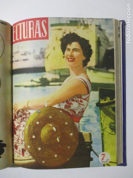 Coleccionismo de Revistas: 17 REVISTAS LECTURAS. AÑOS DE 1950 A 1953. NÚMEROS DEL 309 AL 348. VER PORTADAS EN FOTOS. - Foto 15 - 137204666