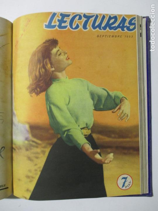 Coleccionismo de Revistas: 17 REVISTAS LECTURAS. AÑOS DE 1950 A 1953. NÚMEROS DEL 309 AL 348. VER PORTADAS EN FOTOS. - Foto 16 - 137204666