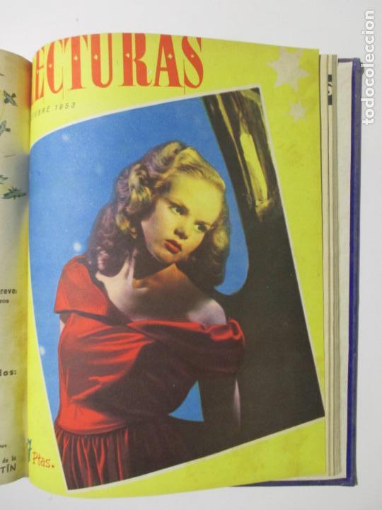 Coleccionismo de Revistas: 17 REVISTAS LECTURAS. AÑOS DE 1950 A 1953. NÚMEROS DEL 309 AL 348. VER PORTADAS EN FOTOS. - Foto 17 - 137204666