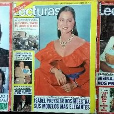 Coleccionismo de Revistas: LECTURAS. Lote 138082730