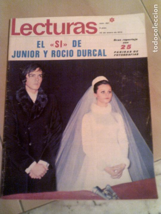 REVISTA LECTURAS N,927 DE 1970 (Coleccionismo - Revistas y Periódicos Modernos (a partir de 1.940) - Revista Lecturas)