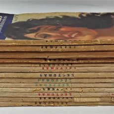 Coleccionismo de Revistas: LECTURAS. 13 EJEMPLARES. AÑOS XII, XIII Y XIV. ADM. PUBLICITAS, S. A. . Lote 139193790