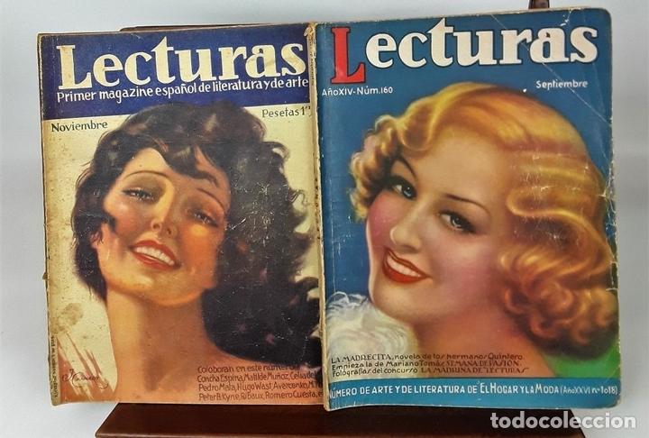 Coleccionismo de Revistas: LECTURAS. 13 EJEMPLARES. AÑOS XII, XIII Y XIV. ADM. PUBLICITAS, S. A. - Foto 4 - 139193790
