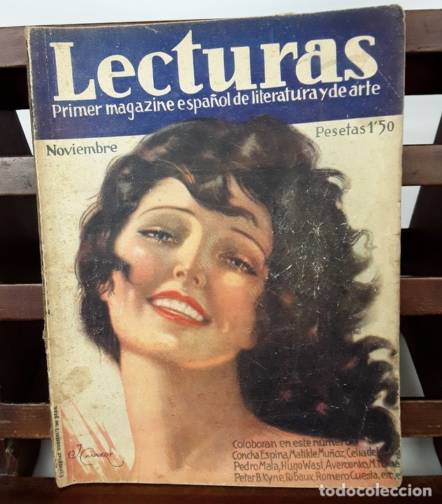 Coleccionismo de Revistas: LECTURAS. 13 EJEMPLARES. AÑOS XII, XIII Y XIV. ADM. PUBLICITAS, S. A. - Foto 5 - 139193790