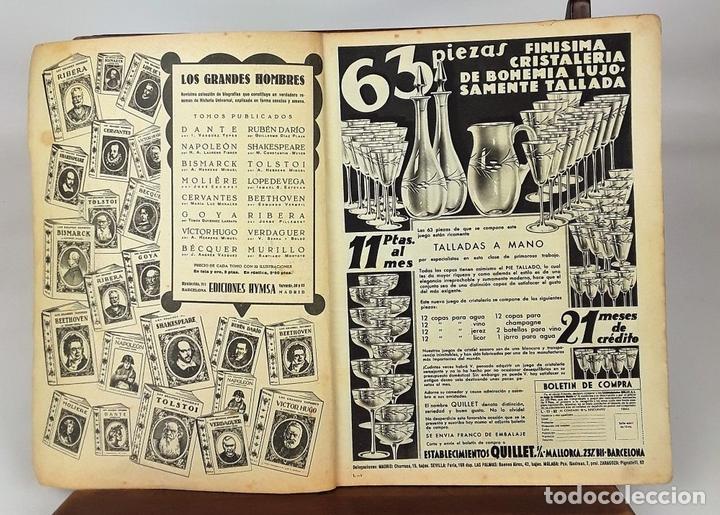 Coleccionismo de Revistas: LECTURAS. 13 EJEMPLARES. AÑOS XII, XIII Y XIV. ADM. PUBLICITAS, S. A. - Foto 6 - 139193790