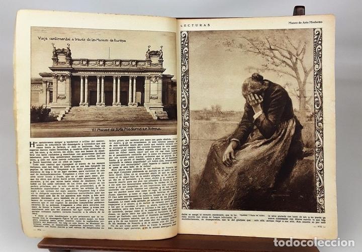 Coleccionismo de Revistas: LECTURAS. 13 EJEMPLARES. AÑOS XII, XIII Y XIV. ADM. PUBLICITAS, S. A. - Foto 7 - 139193790