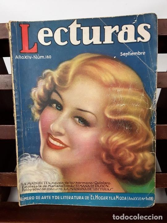 Coleccionismo de Revistas: LECTURAS. 13 EJEMPLARES. AÑOS XII, XIII Y XIV. ADM. PUBLICITAS, S. A. - Foto 8 - 139193790