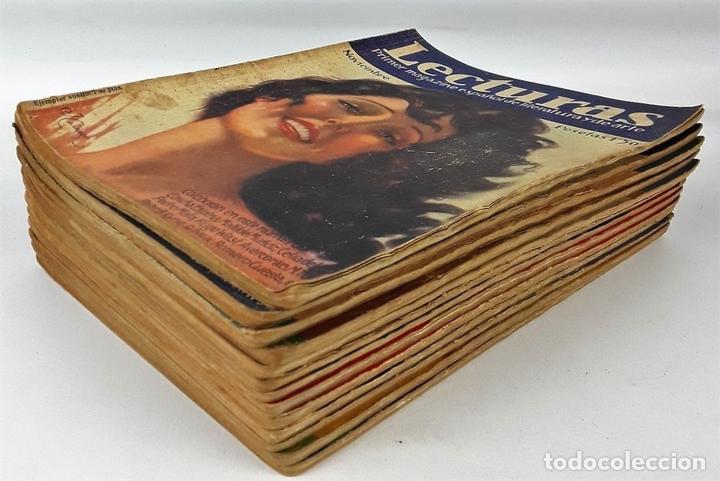 Coleccionismo de Revistas: LECTURAS. 13 EJEMPLARES. AÑOS XII, XIII Y XIV. ADM. PUBLICITAS, S. A. - Foto 11 - 139193790