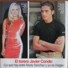 Coleccionismo de Revistas: RECORTE LECTURAS 2324 1996 MARTA SANCHEZ, JAVIER CONDE, KATE HUDSON. Lote 139385718