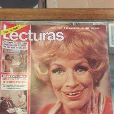 Coleccionismo de Revistas: LECTURAS 1481 AÑO 1980. SRA ROOER MUERTE. ISABEL PREYLER MALLORCA. TARRADELLAS PALOMO LINARES.. Lote 140305424