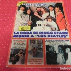 """Coleccionismo de Revistas: REVISTA LECTURAS 1517 AÑO 1981 LA BODA DE RINGO STARR REUNIO A """"LOS BEATLES"""" - EL CORDOBES - TBO . Lote 140326630"""
