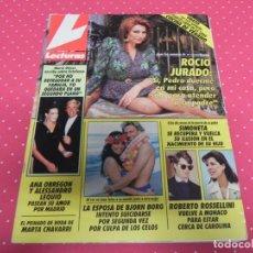Coleccionismo de Revistas: REVISTA -LECTURAS-MAYO 1991 Nº 2040 PORTADA: ROCIO JURADO, CAROLINA Y ESTEFANIA DE MONACO. . Lote 140326962