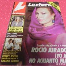 Coleccionismo de Revistas: REVISTA LECTURAS-1989-CARMEN CERVERA-SARA MONTIEL-ROCIO JURADO-LOLA FLORES-CAROLINA-MARIA DEL MONTE . Lote 140327030