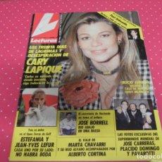 Coleccionismo de Revistas: REVISTA LECTURAS 20/07/1990 JOSE CARRERAS - PLACIDO DOMINGO - PAVAROTTI - ROCIO JURADO - MARTA CHAVA. Lote 140327654