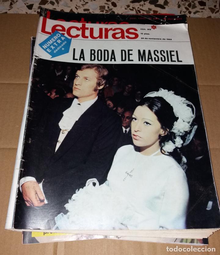 Coleccionismo de Revistas: Revistas del corazón. Lecturas, bodas famosos (Massiel, Jaime Morey, Ángel y Sabrina, Coral Bistuer) - Foto 2 - 140617062