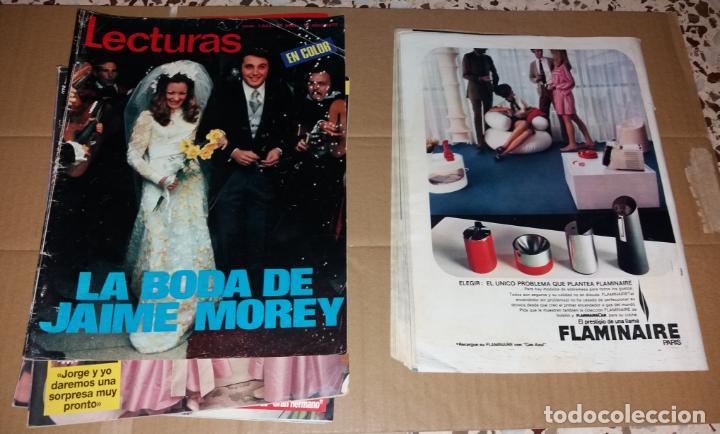 Coleccionismo de Revistas: Revistas del corazón. Lecturas, bodas famosos (Massiel, Jaime Morey, Ángel y Sabrina, Coral Bistuer) - Foto 3 - 140617062