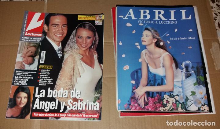 Coleccionismo de Revistas: Revistas del corazón. Lecturas, bodas famosos (Massiel, Jaime Morey, Ángel y Sabrina, Coral Bistuer) - Foto 5 - 140617062