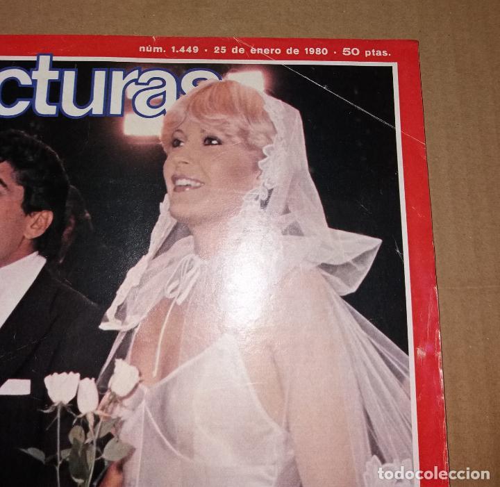 Coleccionismo de Revistas: Revista del corazón. Lecturas boda Bárbara Rey y Ángel Cristo, nº1449 25/01/1980 - Foto 3 - 140618178