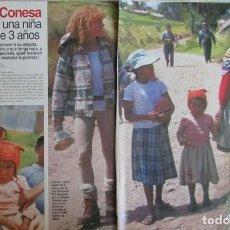 Coleccionismo de Revistas: RECORTE LECTURAS 2357 1997 CARMEN CONESA. 5 PGS. Lote 140745994