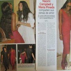Magazine Collection - RECORTE LECTURAS 2357 1997 NAOMI CAMPBELL, MARIA PINEDA. JOAQUIN CORTES - 140888322