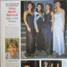 Coleccionismo de Revistas: RECORTE LECTURAS 2357 1997 VICKY MARTIN BERROCAL. . Lote 140888438