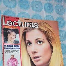Coleccionismo de Revistas: LECTURAS Nº 1141 (1/3/1974) FALTA EL POSTER CENTRAL DE JOHAN CRUYFF. Lote 141474858