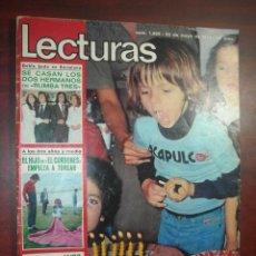 Coleccionismo de Revistas: LECTURAS 1205-AÑO 1975- QUECO SERRAT-CORDOBES-JULIO IGLESIAS-POSTER-THE WHO-SARA MONTIEL- REVISTA. Lote 142202194