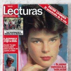Coleccionismo de Revistas: LECTURAS - 1983 - ESTEFANÍA, DINASTÍA, CASIMIRO, VALERIE LANDSBURG, ISABEL PANTOJA, SILVIA DE SUECIA. Lote 69247289