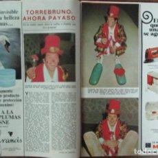 Coleccionismo de Revistas: RECORTE REVISTA LECTURAS Nº 1298 1977 TORREBRUNO. Lote 143578254