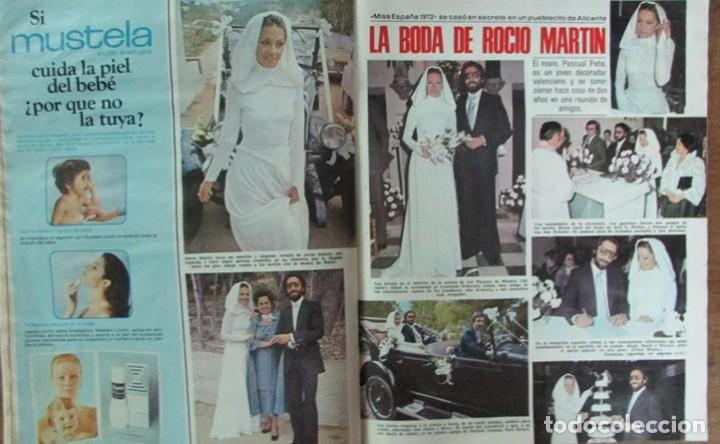 RECORTE REVISTA LECTURAS Nº 1298 1977 ROCIO MARTIN, MISS ESPAÑA 1972. PORTADA Y 4 PGS (Coleccionismo - Revistas y Periódicos Modernos (a partir de 1.940) - Revista Lecturas)
