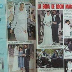 Coleccionismo de Revistas: RECORTE REVISTA LECTURAS Nº 1298 1977 ROCIO MARTIN, MISS ESPAÑA 1972. PORTADA Y 4 PGS. Lote 143578498