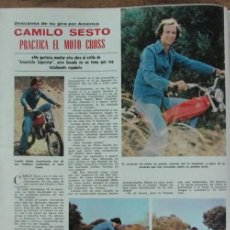Coleccionismo de Revistas: RECORTE REVISTA LECTURAS 1264 1976 CAMILO SESTO. Lote 143590398