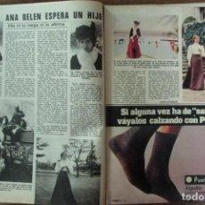 Coleccionismo de Revistas: RECORTE REVISTA LECTURAS 1256 1976 ANA BELEN. PORTADA Y 2 PGS. Lote 143615270