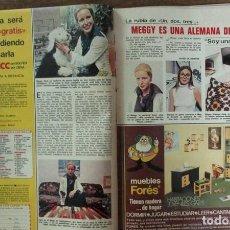 Coleccionismo de Revistas: RECORTE REVISTA LECTURAS 1256 1976 MEGGY SHEMUD. UN, DOS, TRES.... Lote 143615338