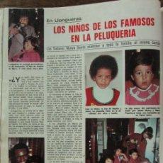 Coleccionismo de Revistas: RECORTE REVISTA LECTURAS 1256 1976 LLONGUERAS. Lote 143615394