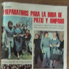Coleccionismo de Revistas: RECORTE REVISTA LECTURAS 1256 1976 PATXI ANDIOS Y AMPARO MUÑOZ. 5 PGS. Lote 143615686