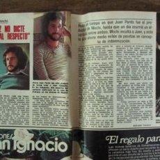 Coleccionismo de Revistas: RECORTE REVISTA LECTURAS 1256 1976 JUAN PARDO. BETTY MISSIEGO. Lote 143617106