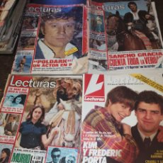 Coleccionismo de Revistas: LECTURAS. Lote 143734844