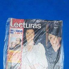 Coleccionismo de Revistas: LECTURAS Nº 1174 (18/10/1974) POSTER CHARLES BRONSON / ARTICULO JOHAN CRUYFF. Lote 145063174