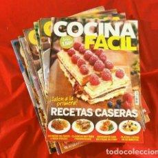 Coleccionismo de Revistas: COCINA FACIL (LECTURAS) LOTE 28 REVISTAS CON INNUMERABLES RECETAS DE COCINA ACTUALES - COMIDA CASERA. Lote 145072446
