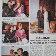 Coleccionismo de Revistas: RECORTE REVISTA LECTURAS Nº 910 1969 SALOME 2 PGS. Lote 146061770
