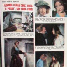 Coleccionismo de Revistas: RECORTE LECTURAS 1974 FERNANDO FERNAN GOMEZ, EMMA COHEN, ALAIN DELON. Lote 146111090
