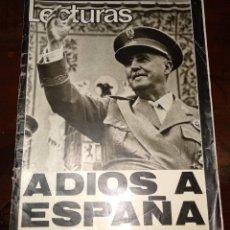 Coleccionismo de Revistas: ADIÓS A ESPAÑA 28-11-75 MUERTE DE FRANCO-POSTER MICHAEL DOUGLAS-VER FOTOS-CHARTREUSE-CAMILO SESTO.... Lote 192931355