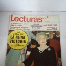 Coleccionismo de Revistas: REVISTA LECTURAS NÚMERO 885, 4 DE ABRIL DE 1969. Lote 150417076
