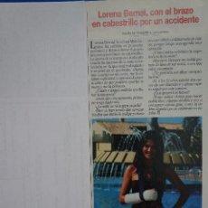 Collectionnisme de Magazines: RECORTE REPORTAJE CLIPPING DE LORENA BERNAL MISS ESPAÑA REVISTA LECTURAS Nº 2474 PAG 37. Lote 150804842