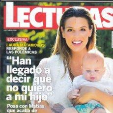 Coleccionismo de Revistas: REVISTA LECTURAS Nº 3465. LAURA MATAMOROS. TERESA CAMPOS. SHAILA DURCAL. . Lote 151301862