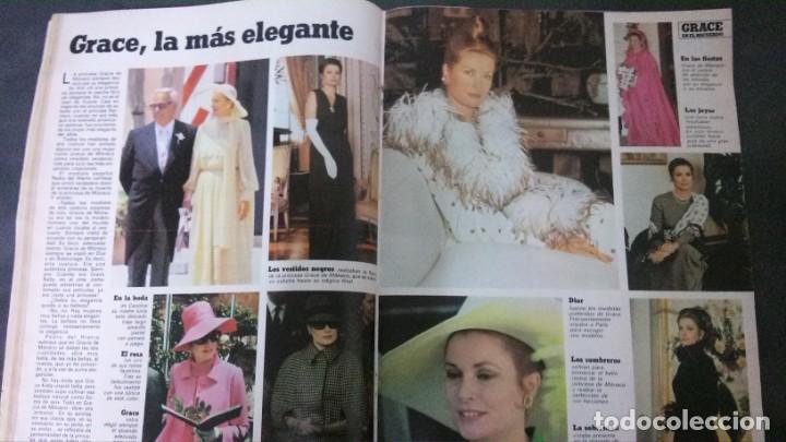 Magazine Collection : GRACE KELLY-CAROLINA DE MONACO-MIGUEL BOSE-ALASKA-MECANO-UN DOS TRES-ANGELES DE CHARLIE-MALAGA-ALBO - Foto 19 - 151891774
