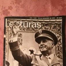 Coleccionismo de Revistas: REVISTA LECTURAS Nº1232 DEL 28 E NOVIEMBRE DE 1975.. Lote 152037934
