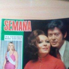 Coleccionismo de Revistas: SEMANA 1661. 1971. Lote 152350606